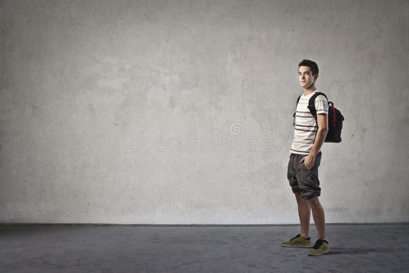 Школьник стоковое изображение