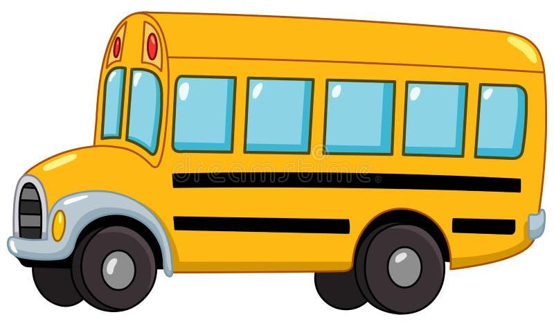 Школьный автобус иллюстрация штока