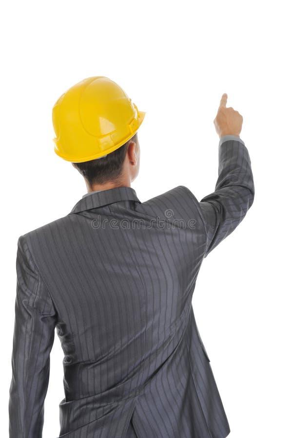 шлем бизнесмена стоковая фотография rf