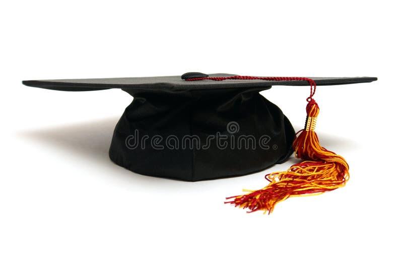 шлем выпускника стоковое фото