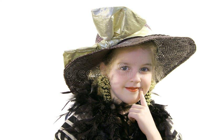шлем девушки горжетки немногая стоковые фото