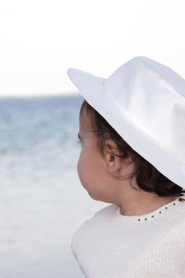 шлем девушки стоковое изображение rf