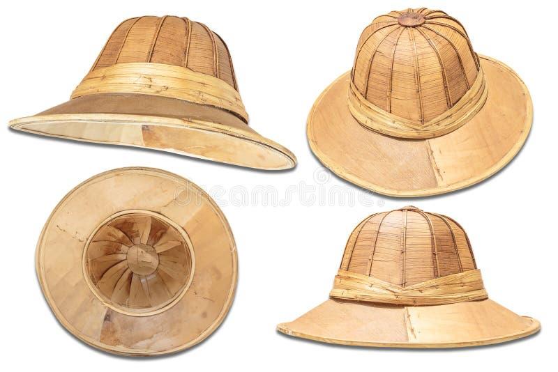 шлем деревянный стоковые фотографии rf