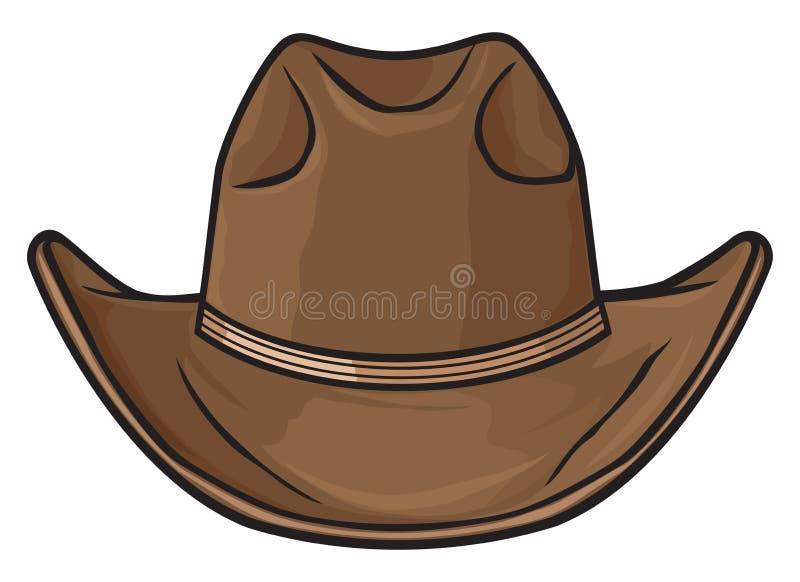 Шлем ковбоя иллюстрация штока