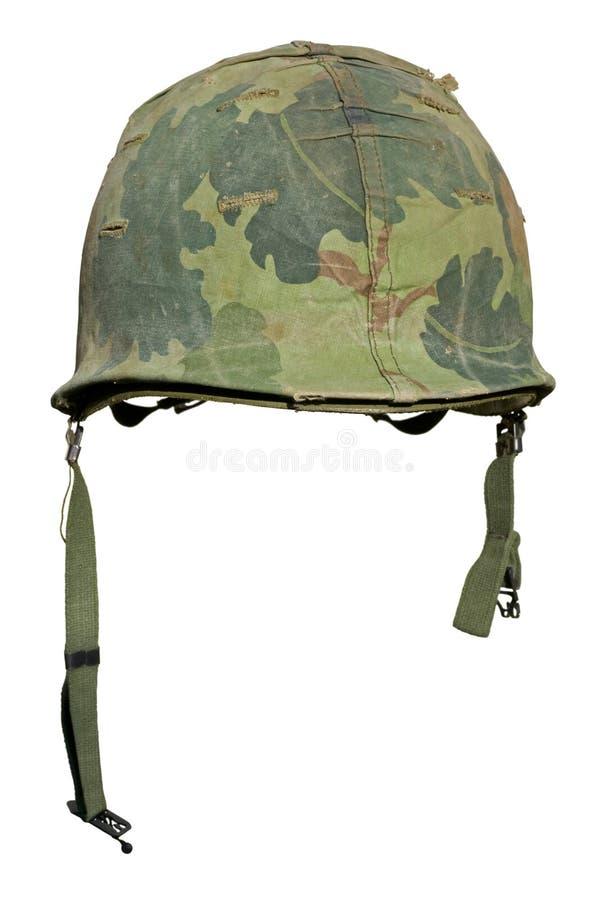 шлем мы война США против Демократической Республики Вьетнам стоковые фото