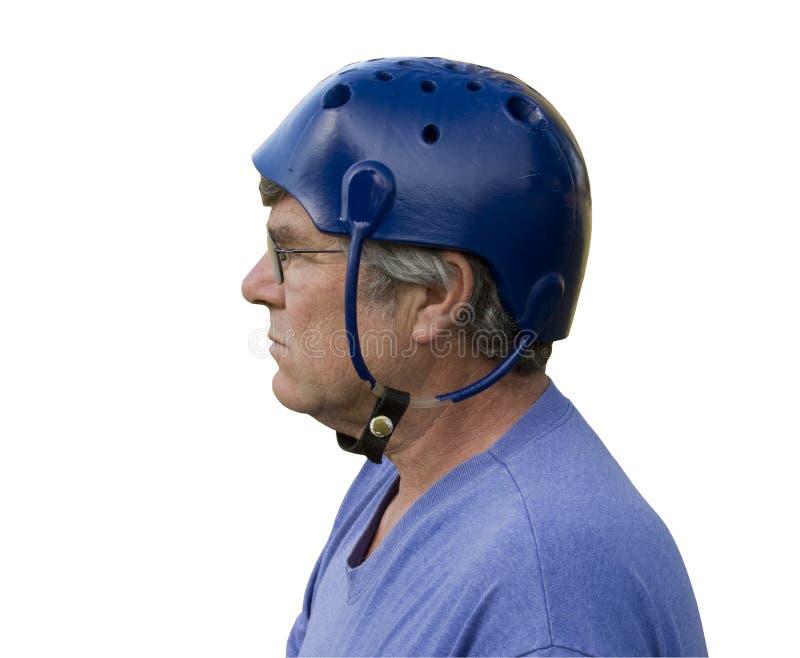шлем проложил захват стоковая фотография rf