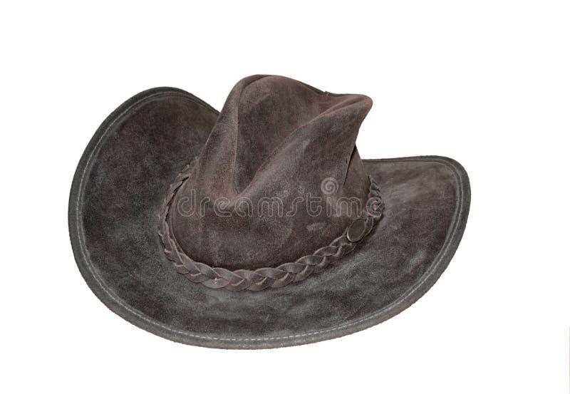шлем фасонируемый ковбоем старый стоковое изображение rf