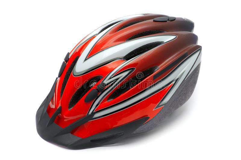 шлем цикла стоковое изображение rf