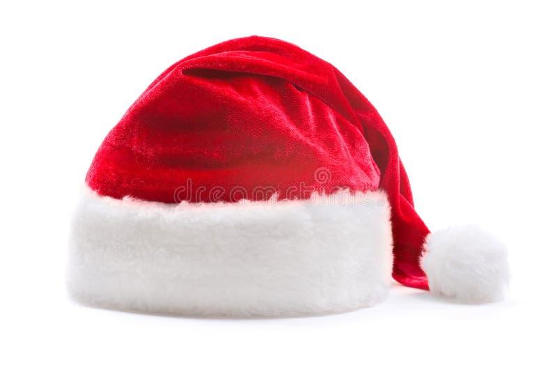 шлем santa claus стоковые изображения rf