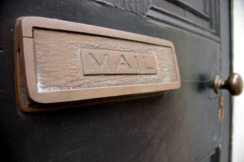 шлиц почты стоковые изображения rf