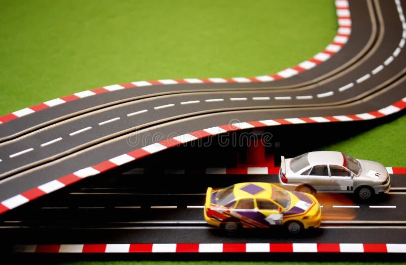 шлиц 6 автомобилей Стоковое фото RF