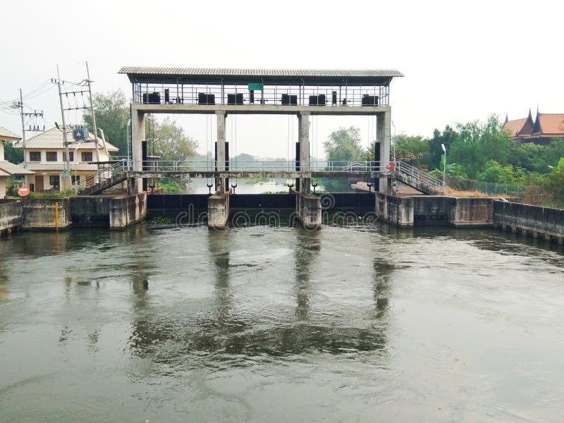 Шлюз в Таиланде стоковое фото