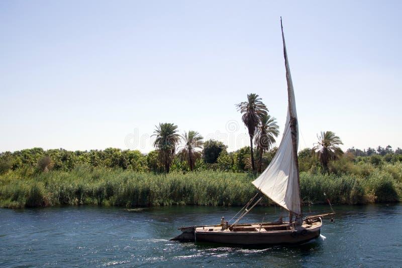 Шлюпка Нила стоковые фото