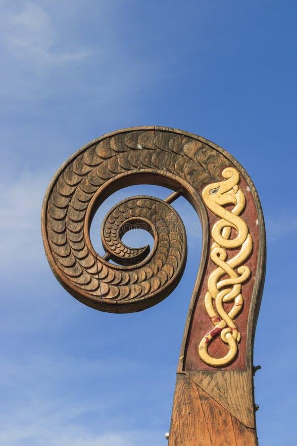 шлюпка viking стоковые изображения rf