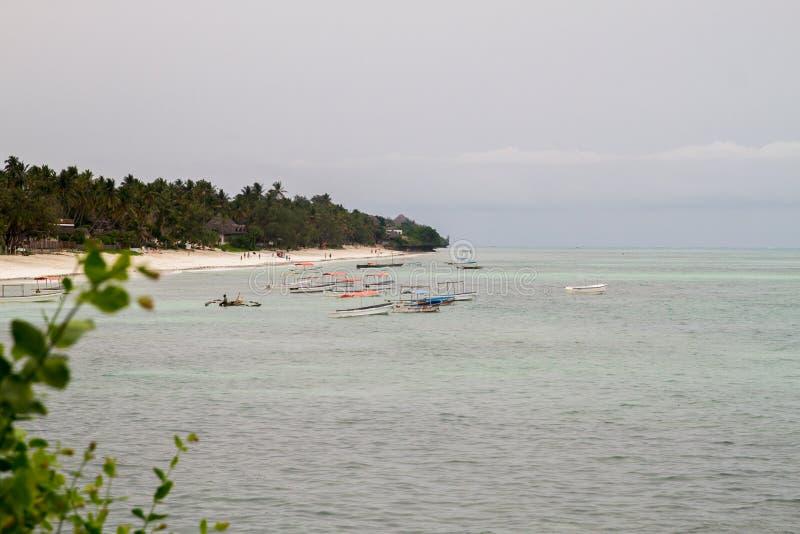 Шлюпки на Индийском океане стоковая фотография