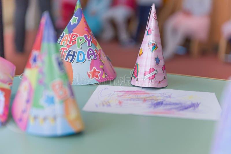Шляпа вечеринки по случаю дня рождения стоковые изображения rf