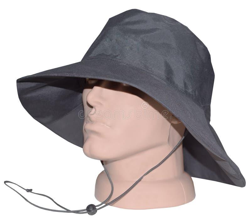 Шляпа Boonie на голове манекена стоковое фото