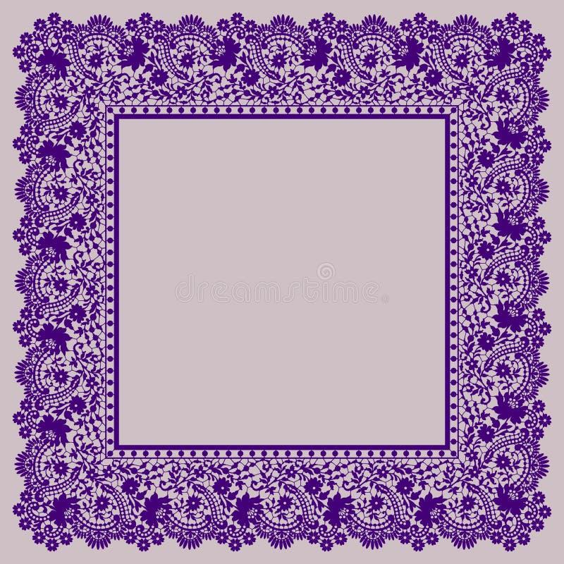 шнурок рамки вал иллюстрации зажима цветения искусства бесплатная иллюстрация