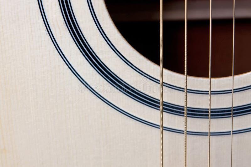 шнуры гитары стоковая фотография
