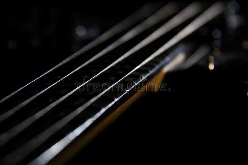 Шнур гитары стоковое фото rf