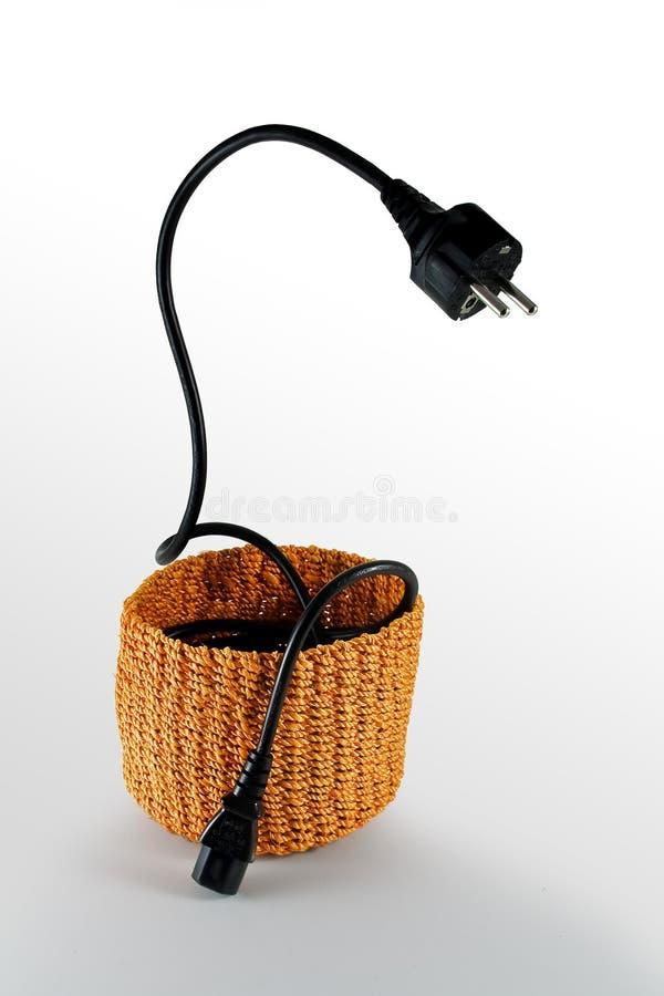 шнур кобры электрический стоковая фотография rf