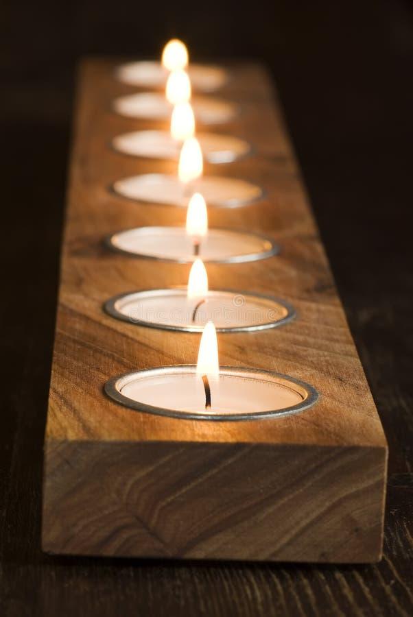 шнур candlight стоковое изображение