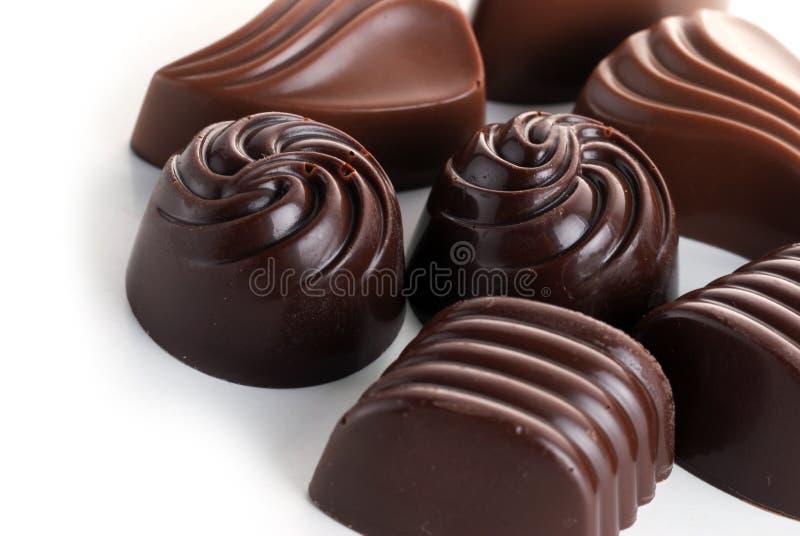 шоколады вкусные стоковая фотография rf