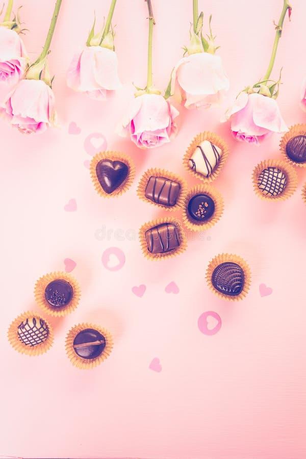 шоколады стоковое изображение