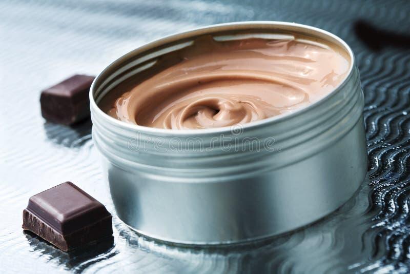 шоколад масла стоковые изображения