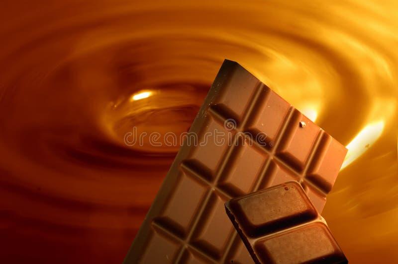 шоколад предпосылки стоковое изображение