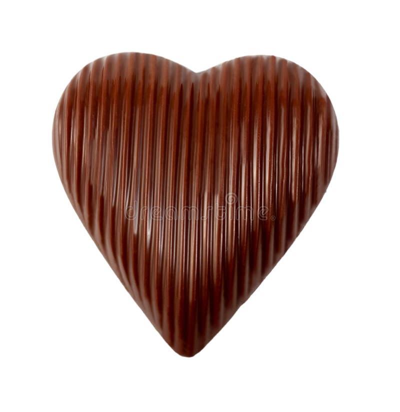 Шоколад сердца стоковое фото rf