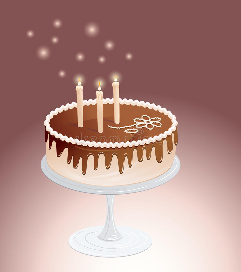 шоколад торта бесплатная иллюстрация