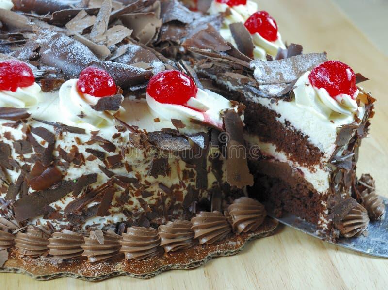 шоколад торта стоковое изображение rf