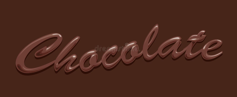 шоколад иллюстрация штока