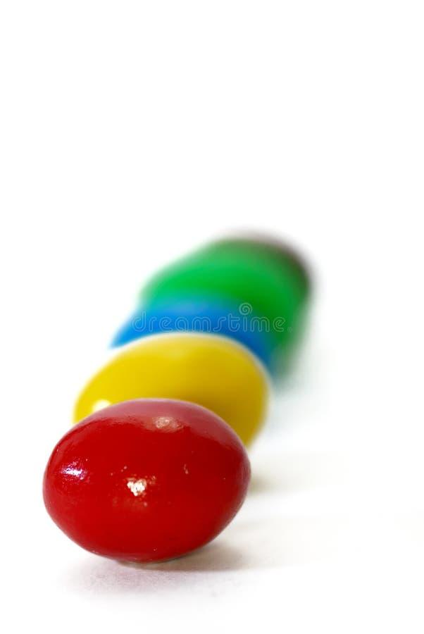 шоколад 3 конфет стоковое фото