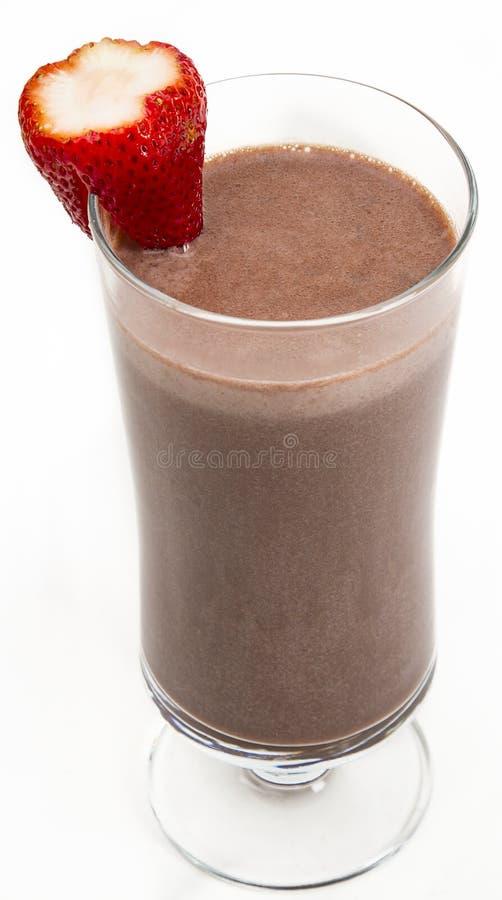 Шоколад и клубника стоковое фото rf