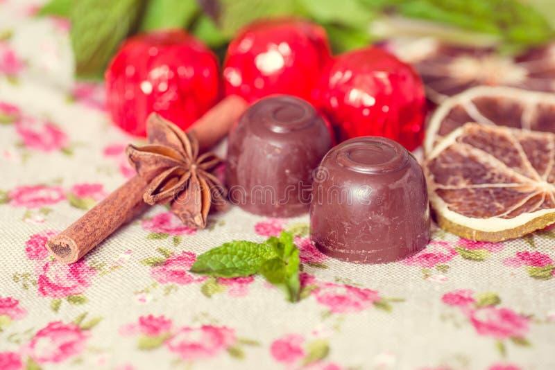 Шоколад крупного плана стоковое фото rf