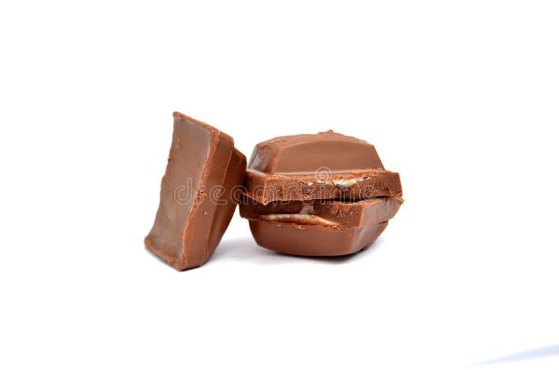 Шоколадные батончики стога стоковые изображения