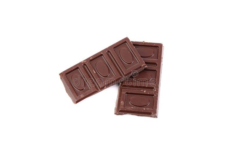 Шоколадные батончики стоковые изображения