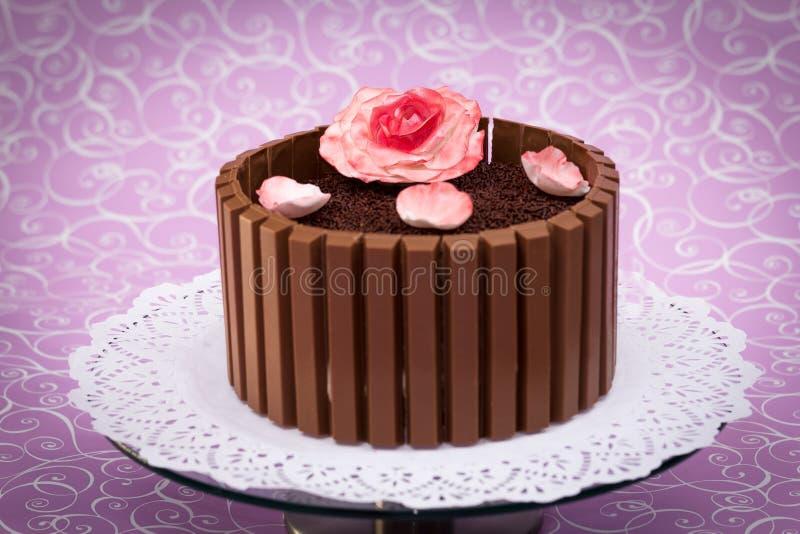 Шоколадный торт стоковая фотография