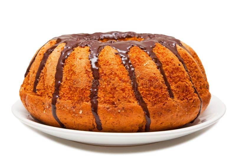Шоколадный торт стоковое изображение