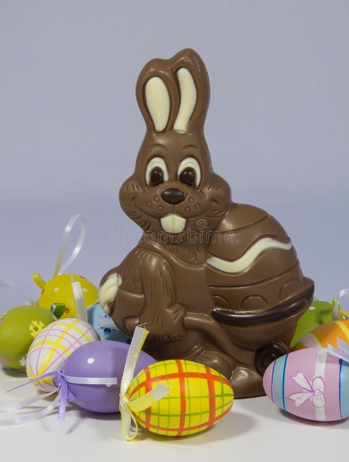 шоколад пасха зайчика стоковая фотография rf