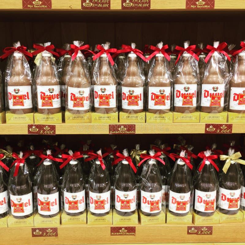 Шоколад Duvel стоковые изображения