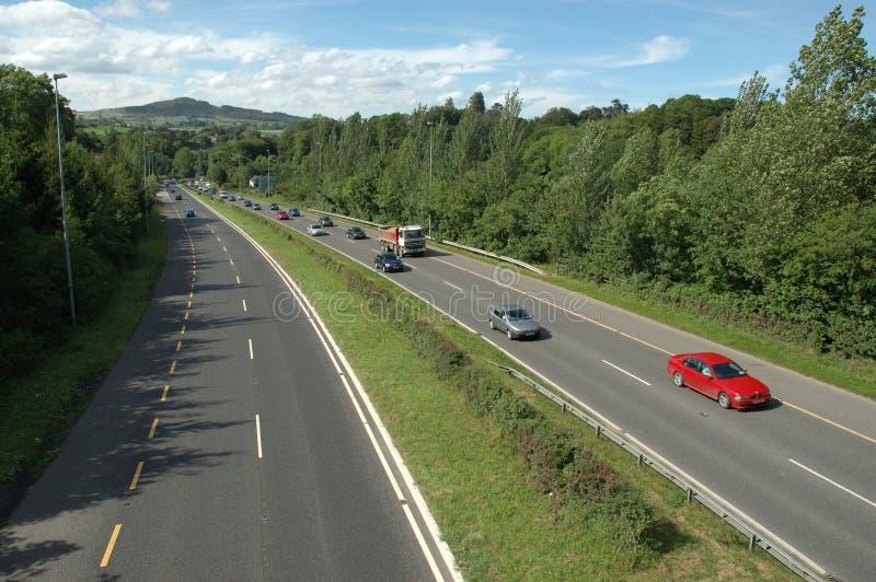 шоссе автомобилей стоковые фото