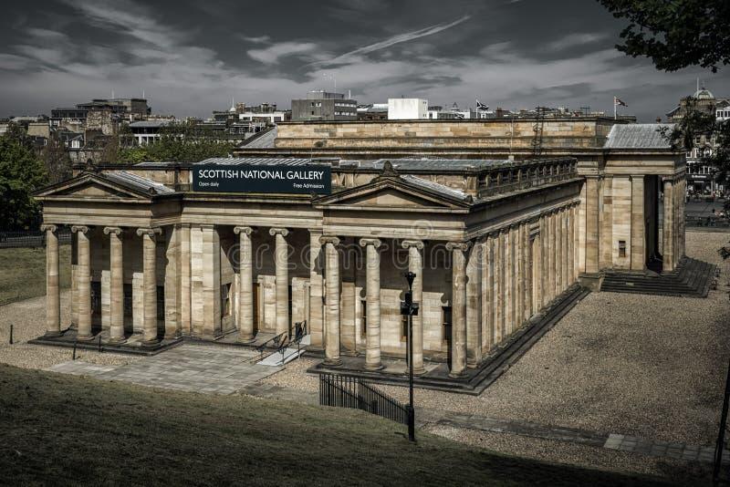 Шотландская национальная галерея, Эдинбург стоковые изображения