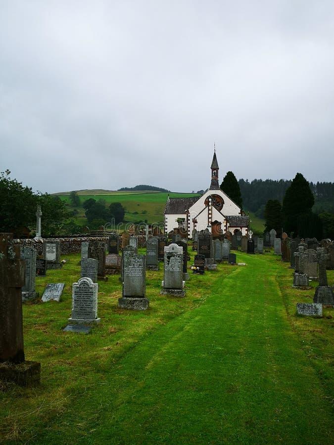 Шотландская церковь стоковое изображение