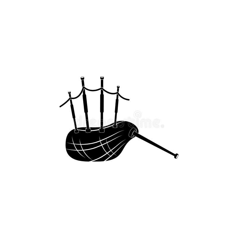 Шотландский значок волынок бесплатная иллюстрация
