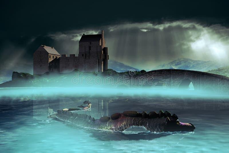 Шотландский ландшафт бесплатная иллюстрация