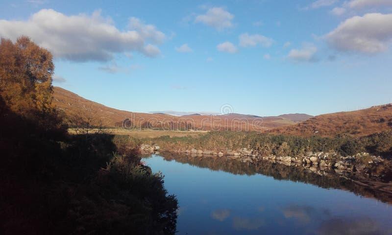 Шотландия, гористые местности стоковое фото rf
