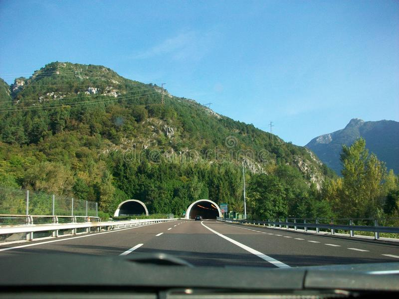Шотландия к Италии стоковая фотография rf